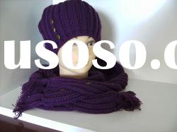knit winter hat scarf sets 2012