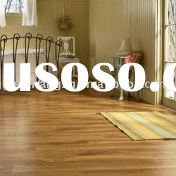 laminated flooring(12mm v-groove made of HDF board with unilin click system )
