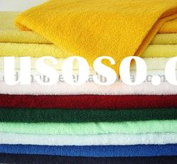 plain dyed cotton bath/hand towel