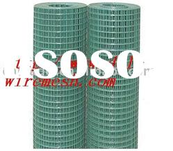 pvc coated wire mesh rolls 1mX25 m ;plastic welded mesh rolls