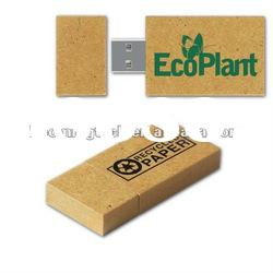 rectangle shape wooden USB flash drives 1GB with customer logo