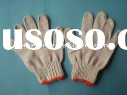 recycle knitted cotton work gloves