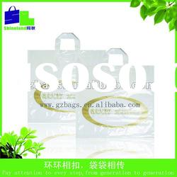 soft loop plastic handle bag