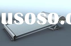 solar water heater with low angle for decline roof