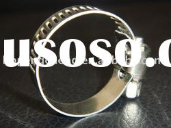 stainless steel or galvanized German type hose clamp