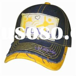 teenager's cotton baseball cap/sport cap with patch