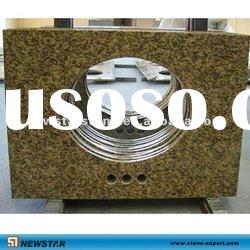 tiger skin yellow granite vanity top