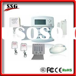 unique gsm home alarm system Remote control thru mobile phone