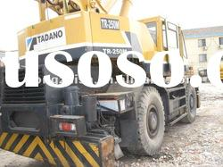 used Tadano Rough Terrain crane TADANO 25tons origin in Japan in Bottom price