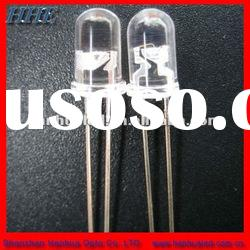 water clear 5mm round white led diode supplier