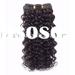 water wave human hair extension