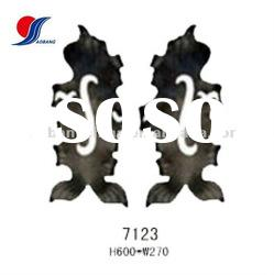 wrought iron forged gate parts