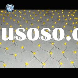 yellow led christmas net light with 80L led