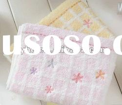 100% cotton Yarn dyed cotton baby towel