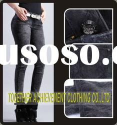 2012 fashion ladies jeans models tight pants