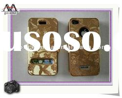 2012 new design Genuine Leather case for iphone 4/4S,The best Leather case for iphone 4/4S