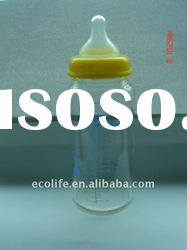 300ml Borosilicate Glass Baby Bottle/Glass Feeding Bottle/Cute Baby Bottle