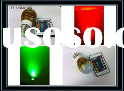 3W RGB Remote control LED Spot Light