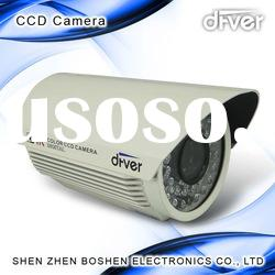 420TVL 1/3-inch Sony Water-resistant CCTV Camera with 12V DC Power Supply and Auto White Balance