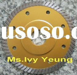 "4"" Thin Turbo Diamond Saw Blade for Tile with Flange"