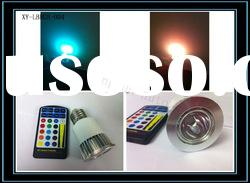 5 RGB Remote control LED Spot Light
