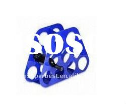 5mm thickness of blue Acrylic wine bottle holder