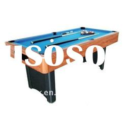 American Billiard table with auto ball-return system