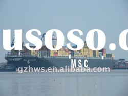 Bulk cargo LCL shipping services from guangzhou china to busan south korea