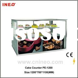 Chocolate Display Showcase with Full Glass Material (Retail Store Display Cabinet)