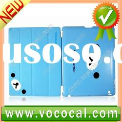 Cute Slim Leather Case for iPad 2