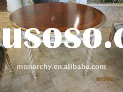 D123-43 high quality solid wood classical dining room table