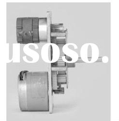DC electric motor with integrated controller