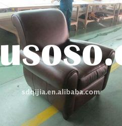 European Style Office Antique Genuine Leather Executive armchair