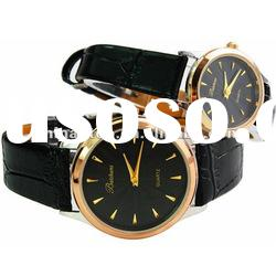 Fashion Lovers leather watches waterproof digital electronics promotional lovers watch