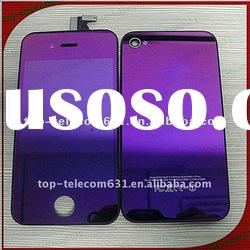 For iphone 4 lcd screen kit,electroplated purple