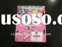 Full Color Printing Plastic Barcode Card