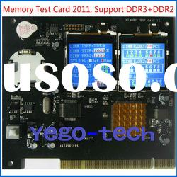 Good Memery RAM Tester for DDR2 and DDR3, Supporting Laptop + Desktop