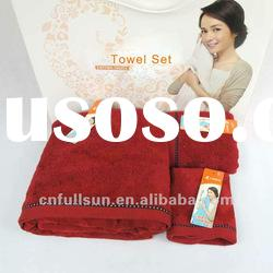 High Quality Jacquard Towel Set