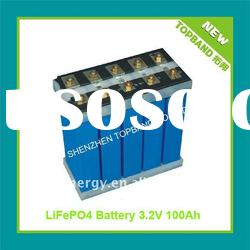 High Quality Li ion Rechargeable Truck Battery with BMS