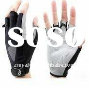 High Quality Synthetic Leather Cycle Gloves