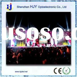 High resolution P20 full color led curtain display screen
