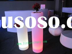 LED flower pot for home decor
