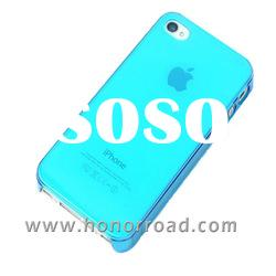 Light Blue Ultra Thin Crystal Case Cover for the iPhone 4