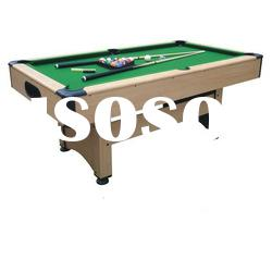 MDF Billiard table with auto ball-return system