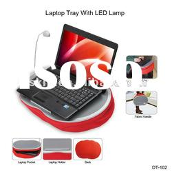 MDF Laptop Computer Desk with LED Lamp