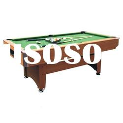 MDF pool table with auto ball-return system