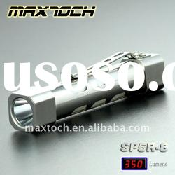 Maxtoch SP5R-8 4W XPG R5 280LM Super bright Rechargeable Aluminum Emergency AA LED Torch