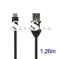 Micro USB Data Sync Charger Cable for HTC, Length: 1.26m