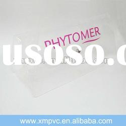 New design pvc button clear bag for sales XYL-G218