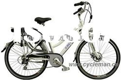 New electric city bike with 36V/16Ah li-ion lithium battery